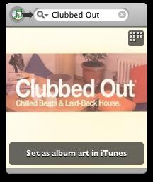 Amazon Album Art widget
