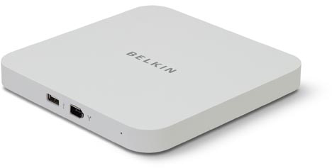 Belkin Hi Speed USB 2.0 and FireWire 6-port hub for Mac Mini - F5U507uk