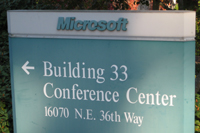 Sign for Building 33