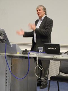 Dr Richard Bartle talks at Digital Surrey