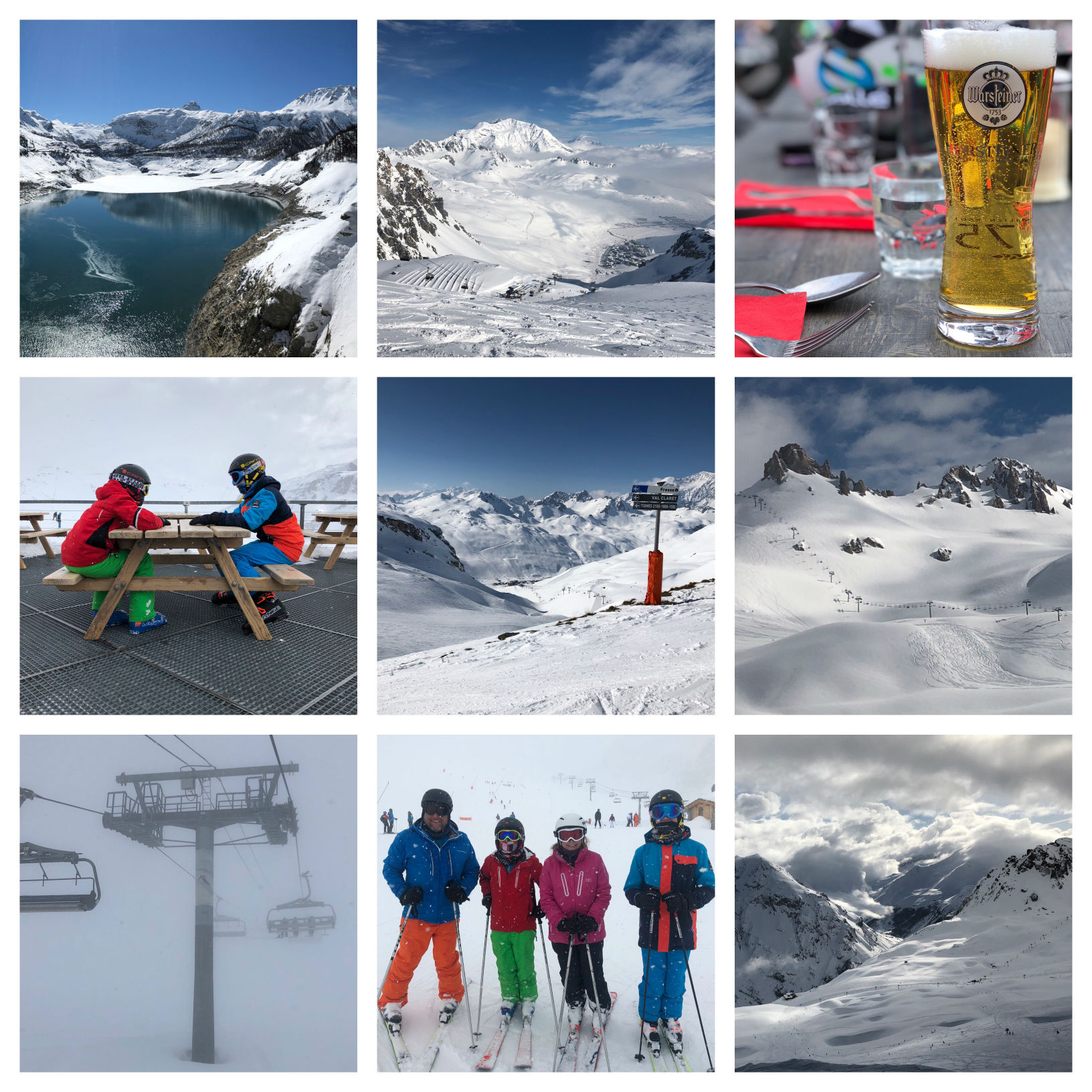 Skiing in Tignes-Val d'Isère (Espace Killy)
