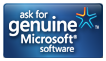 Ask for genuine Microsoft software