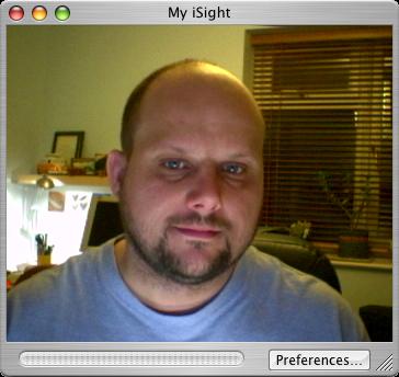 iSight image in iChat AV