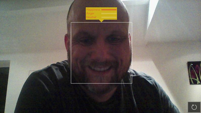 Azure Cognitive Services Emotion Detection
