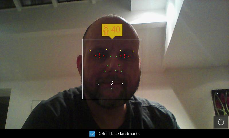 Azure Cognitive Services Face Detection