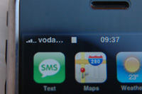 iPhone working with a Vodafone UK SIM