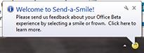 Office 2010 Send a Smile