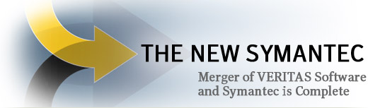 Symantec/Veritas merger completion