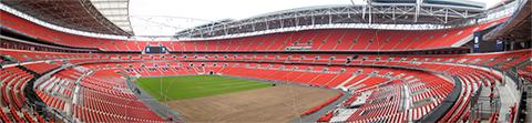 The new Wembley Stadium