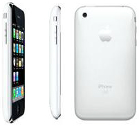 Apple iPhone 3G in white