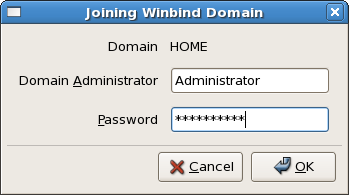 Winbind join