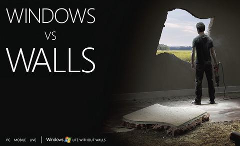 Windows vs. Walls