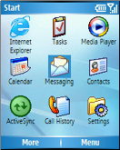 Windows Mobile 5.0 (smartphone interface)